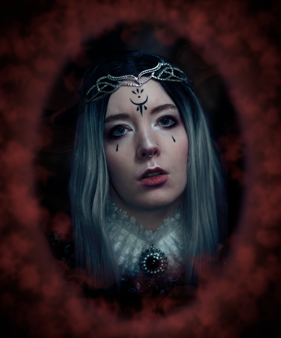 Fantasy portrait of a White Queen