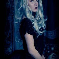 alternative gothic fashion portrait photography