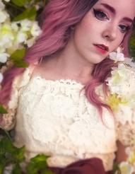 pink fantasy nymph