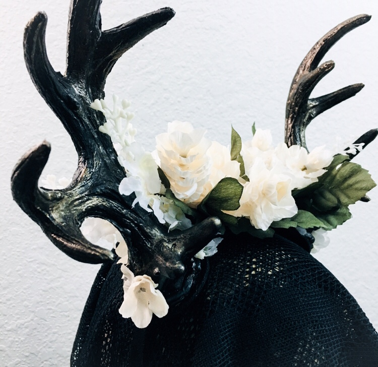 Fantasy floral headdress
